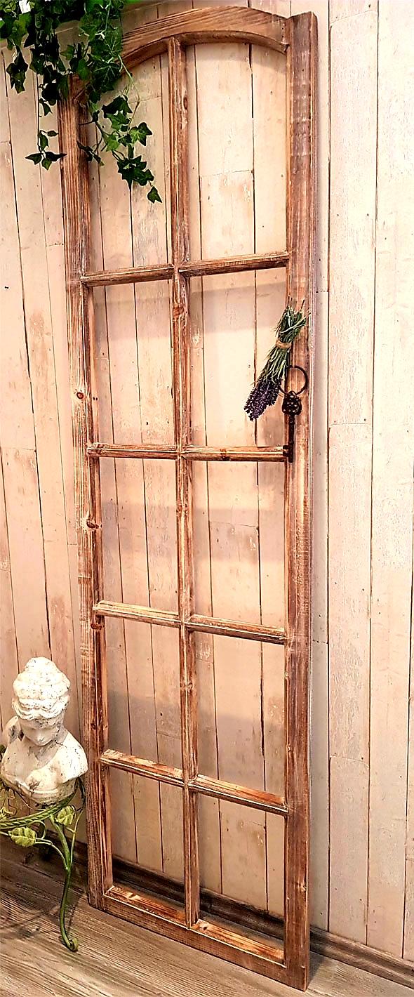20 Riesiges Deko Holzfenster 20x20cm